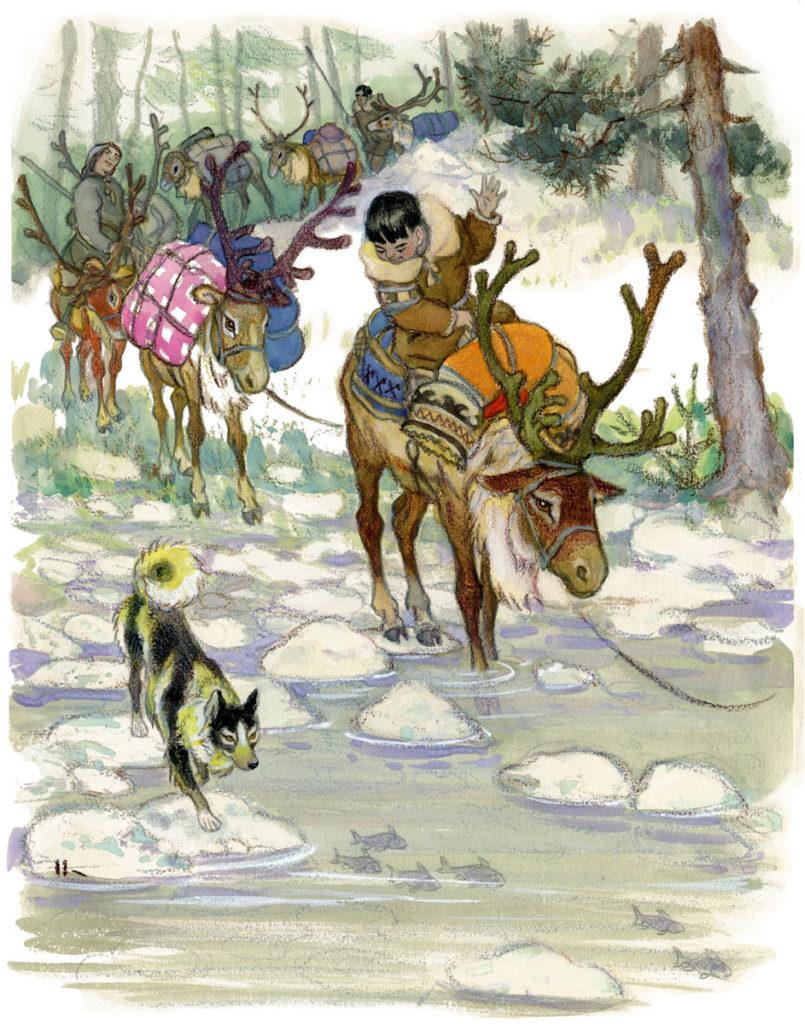 охота и обряды народа эвенки