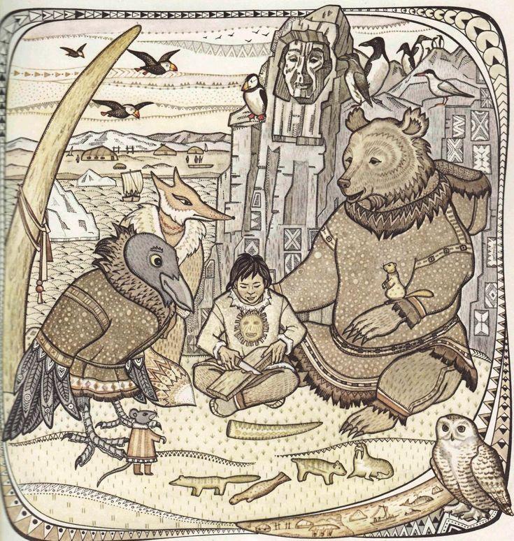 мифические животные и птицы эвенкийского фольклора